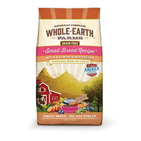 Whole Earth Farms Small Breed Salmon & Whitefish Grain Free Dog Food