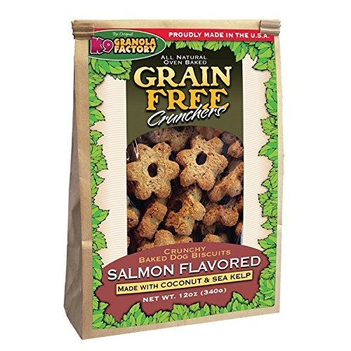 K9 Granola Factory Grain Free Salmon with Coconut and Kelp Crunchers