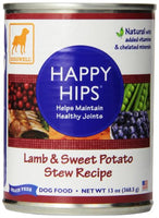 Dogswell Happy Hips for Dogs, Lamb & Sweet Potato Stew, 12 Pack