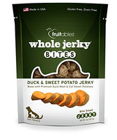 Fruitables Duck and Sweet Potato Dog Treats, 5oz