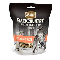 Merrick Backcountry Freeze Dried Raw Treats Salmon Recipe Dog Treat