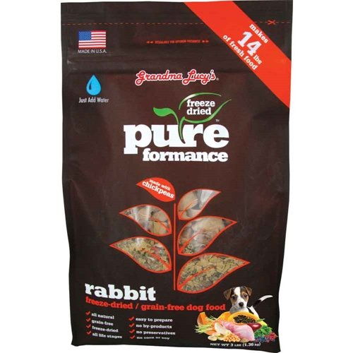 Grandma Lucy's Pureformance Grain Free Rabbit Dog Food