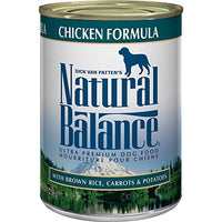 Natural Balance Ultra Premium Chicken Dog Food, 12 Pack