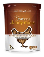 Fruitables Skinny Minis Rotisserie Chicken Dog Treats