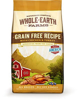 Whole Earth Farms Grain Free Recipe Chicken & Turkey Dog Food