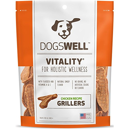 Dogswell Vitality Chicken Grillers Dog Treats, 15oz