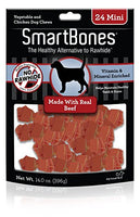 "SmartBones Beef Dog Chew, Mini 2.5"", 24 pack"