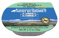 Natural Balance Limited Ingredient Chicken & Pumpkin Cat Food - 24 Pack