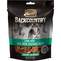 Merrick Backcountry Game Bird Duck Sausage Grain Free Dog Treats, 5oz