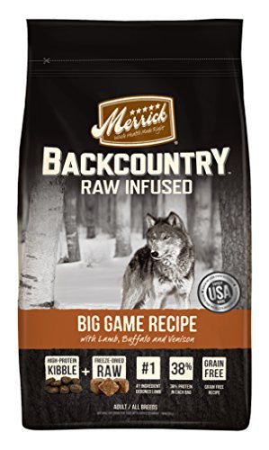 Merrick 1 Count Backcountry Big Game Recipe, 12 lb