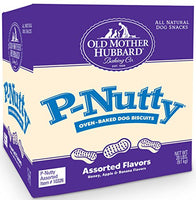 Old Mother Hubbard Classic P-Nutty Assorted Flavors Small Biscuits Dog Treats
