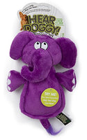 Hear Doggy Flats Elephant Dog Toy