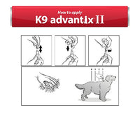 K9 Advantix II Flea, Tick and Mosquito Prevention for X-Large Dogs, Over 55 lb, 4 doses