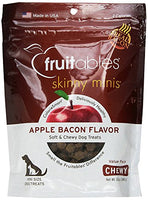 Fruitables Skinny Minis Apple Bacon Small Breed Dog Treats