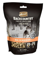 Merrick Backcountry Freeze-Dried Raw Salmon Meal or Mixer Grain Free Dog Food