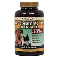 NaturVet Glucosamine DS Level 1 with Chondroitin, 60 ct
