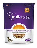 Fruitables Pumpkin & Blueberry Crunchy Dog Treats, 7oz