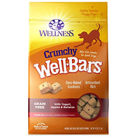 Wellness Crunchy Wellbars Crunchy Yogurt, Apples & Bananas Dog Treats