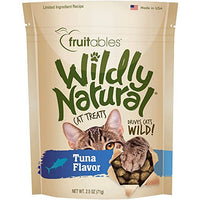 Fruitables Wildly Natural Tuna Flavor Cat Treats, 2.5oz