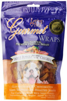 Loving Pets Gourmet Wraps Sweet Potato and Chicken Dog Treats