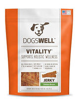 Dogswell Vitality Jerky chicken Breast, 4 oz