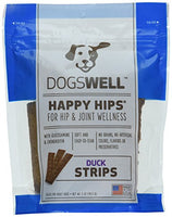 Dogswell Happy Hips Duck Jerky Strip Dog Treat, 5oz