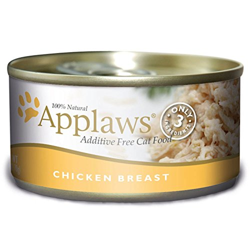 Applaws Chicken Breast, 24 Pack of 2.47oz. Cans