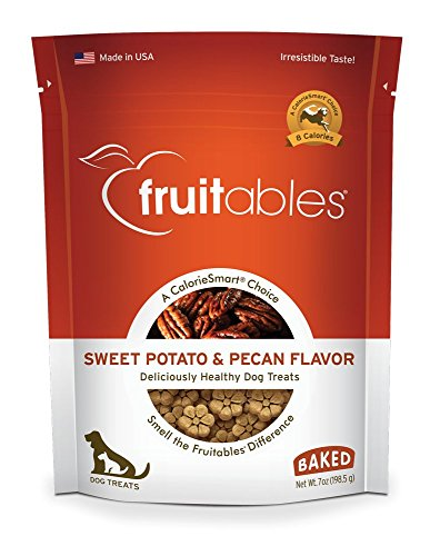 Fruitables Sweet Potato & Pecan Crunchy Dog Treats, 7oz