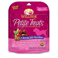 Wellness Petite Treats Chicken, Cherries & Mint Grain Free Dog Treats