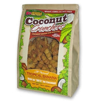 K9 Granola Factory Coconut Crunchers for Dogs All Natural Tropical Banana