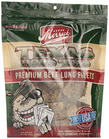 Merrick Texas Hold'ems Beef Lung Fillets, 8oz