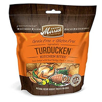 Merrick Kitchen Bites Turducken Grain Free Dog Treats, 9oz