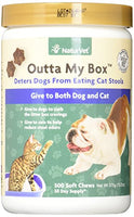 NaturVet Outta My Box Cat Stool Deterrant for Dogs and Cats, 500ct.