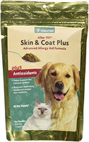 NaturVet Aller-911 Skin & Coat Plus Advanced Allergy Aid Formula, 9oz