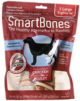"SmartBones Chicken Dog Chew, Large 7"", 3 pack"