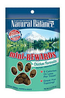Natural Balance Mini Rewards Chicken Dog Treats, 4oz
