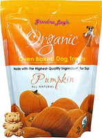 Grandma Lucy's Organic Baked Dog Treats - Pumpkin, 14oz