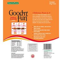 Good'n'Fun Triple Flavor Kabobs Dog Treats,12 oz