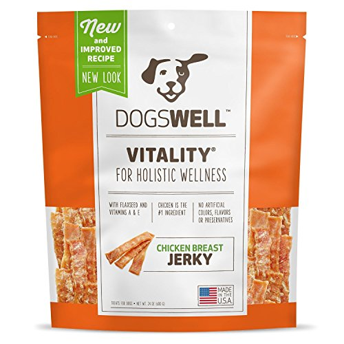 Dogswell Vitality Chicken Breast Jerky, 24oz.