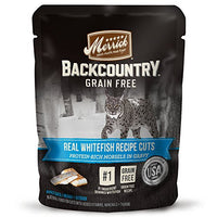 Merrick Backcountry Grain Free Real Whitefish Cat Food, 3oz. 24 Pack