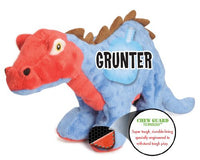 goDog Stegosaurus Plush Dog Toy