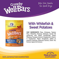 Wellness Crunchy WellBars Whitefish & Sweet Potato Grain Free Dog Treats