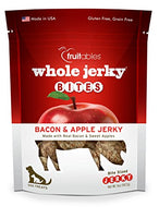 Fruitables Jerky Bites Bacon and Apple Jerky, 5oz.