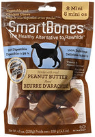 "SmartBones Peanut Butter Dog Chew, Mini 2.5"", 8 pack"