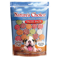 Loving Pet's Nature's Choice Rawhide Lollipop Value Pack Dog Treats, 20 Pack