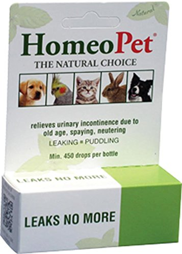 HomeoPet Leaks No More For Pet Urinary Incontinence