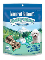 Natural Balance Belly Bites Grain Free Chicken & Legume Dog Treats, 6oz