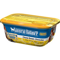 Natural Balance Delectable Delights Chow-Down Chowder Stew Dog Food, 12 Pack