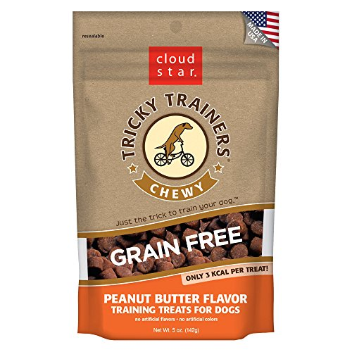 Cloud Star Tricky Trainers Chewy Grain Free Peanut Butter - 5 oz