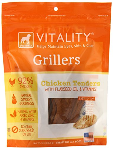 Dogswell Vitality Chicken Grillers Dog Treat, 5oz